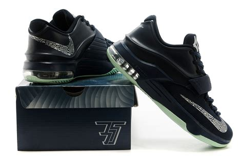 7 with nets instead of 35. Original Quality Nike Kevin Durant 7 All Black White Logo ...