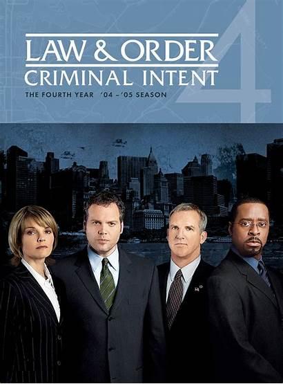 Criminal Intent Law Order Dvd Season Fourth