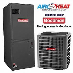 Goodman 2 Ton 16 Seer Heat Pump Variable Speed Air