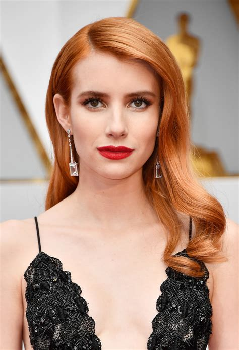 Emma Roberts Retro Hairstyle - Emma Roberts Looks ...