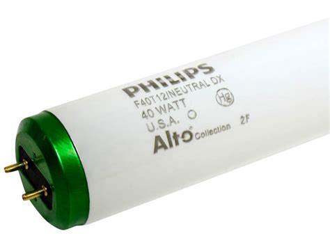philips 40 watt 48 inch t12 neutral white fluorescent