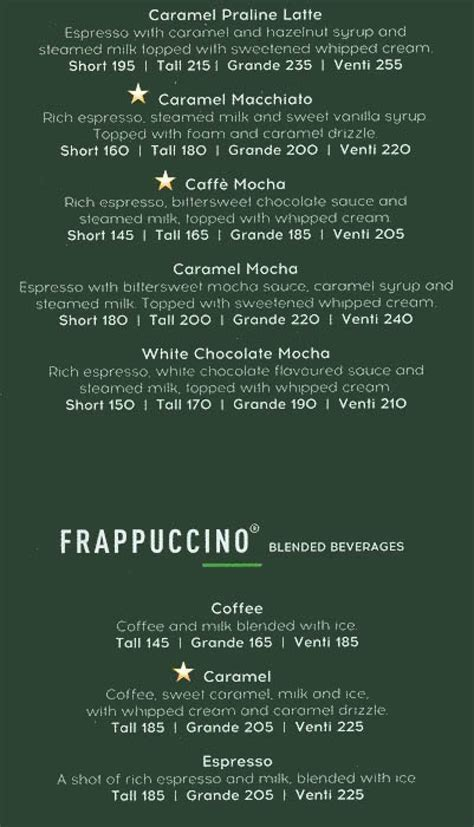 With starbucks® blonde espresso and a hint of cinnamon to energize your day. Starbucks Coffee, Colaba, South Mumbai, Mumbai Restaurants, Menu and Reviews | Eazydiner
