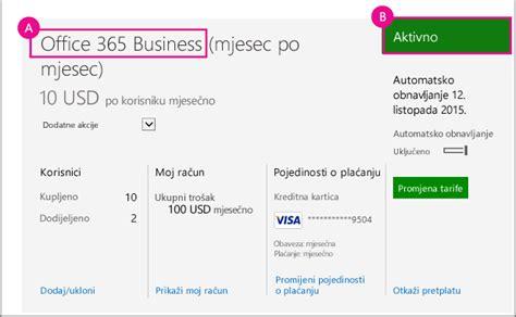 Office 365 Za Skole by Ako Imate Samo Jednu Pretplatu Ona će Se Prikazati Na
