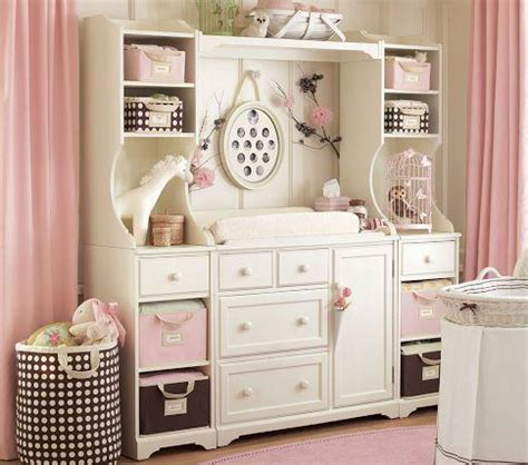 baby changing dresser with hutch changing table system pottery barn