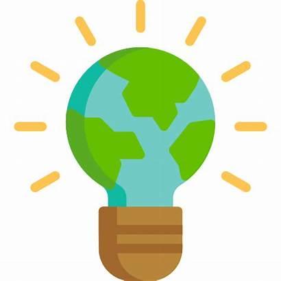 Cartoon Environment Eco Actividades Action Bulb Innovacion