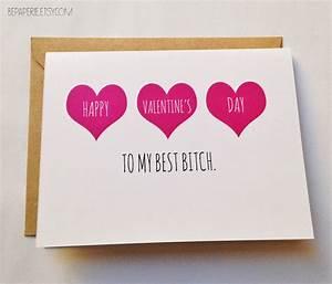 Friend Valentine's Day Card Best Friend Valentine