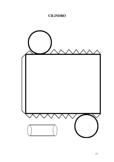 Moldes de cuerpos geométricos