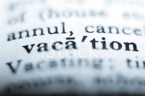 quot are purloiner quot stock dictionary word quot vacation quot stock photos freeimages com