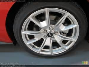 2015 Ford Mustang GT Tire and Wheel
