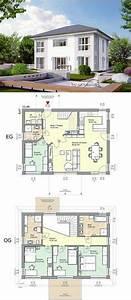 maison familiale 4 chambres avec bureau terrasse garage With delightful plan de maison a etage 7 maison en bois sur mesure detail du plan de maison en