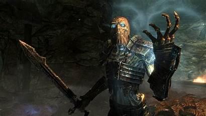 Skyrim Draugr Fantasy Monsters Mod Armor Mods