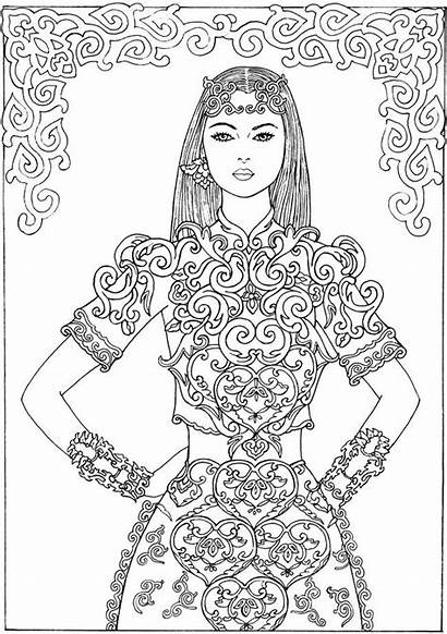 Coloring Pages Dover Books Publications Adult Sheets