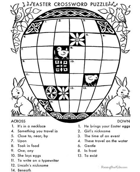 free printable crossword puzzles search results