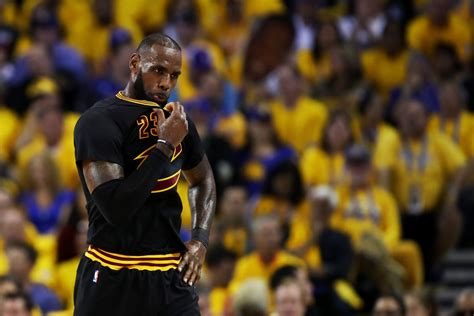 Lebron James Says The Nba Finals Are 'just Basketball