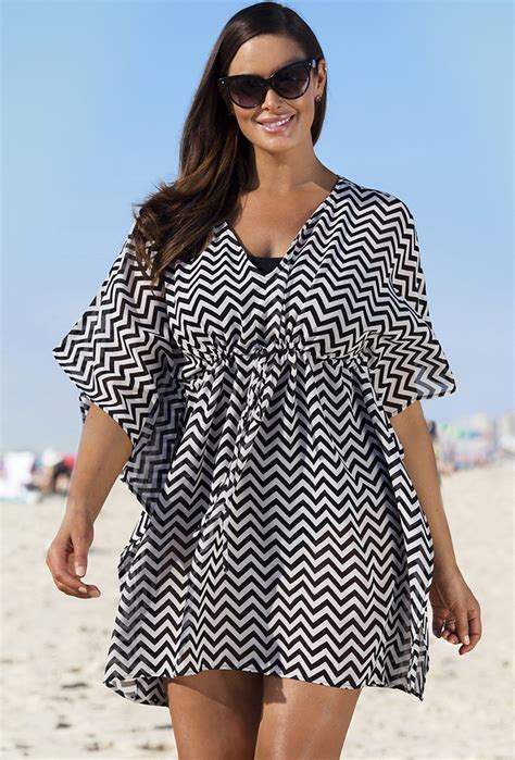 Cover Ups by Stunning Plus Size Tunics Cover Ups And Kimonos