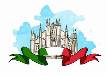 Milano Milan Cathedral Della Cattedrale Dome Illustratie