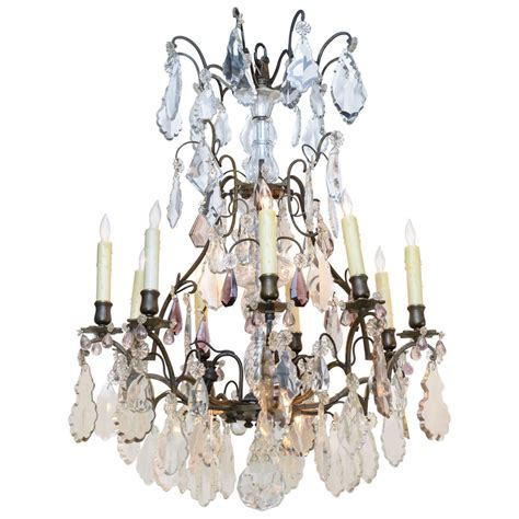 19th century baccarat chandelier for sale at 1stdibs