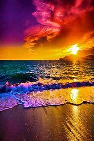 Beautiful Sunset Rainbow Colors