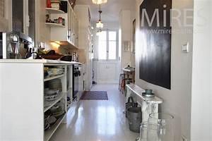 petite cuisine en longueur c0867 mires paris With petite cuisine en longueur