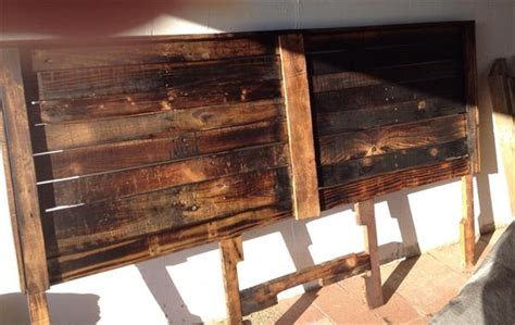 diy pallet king size headboard pallet furniture plans
