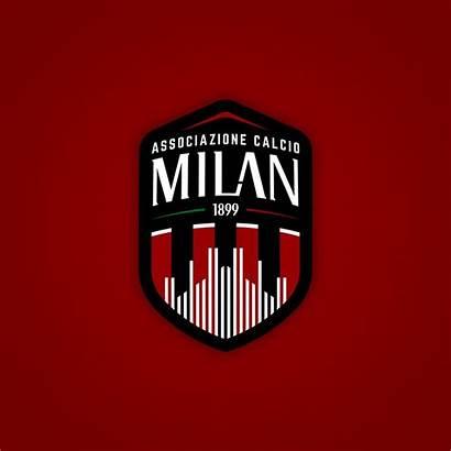Milan Behance Rebranded Jerseys Ac Football Olahraga