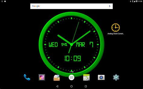 Analog Clock-7 Mobile For Android