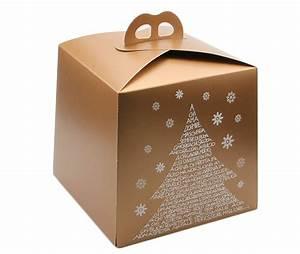Cajas para panettone decoradas Gastronomía & Cía