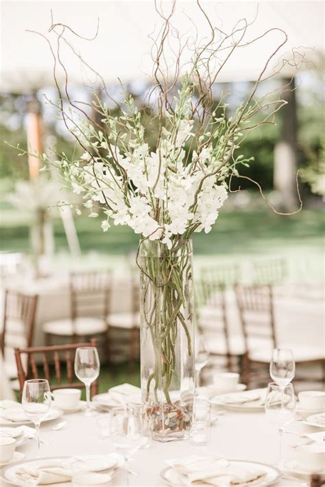 willow arrangement curly willow branch wedding centerpiece curious country creations crafty life