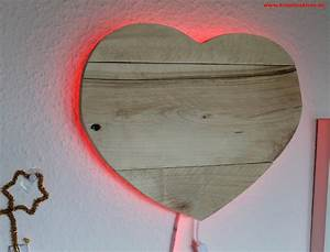 Upcycling Ideen Holz : upcycling led holz lampe ~ Buech-reservation.com Haus und Dekorationen