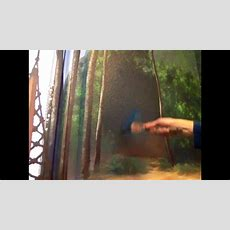 How To Paint Forest Background  Mural Joe  Youtube