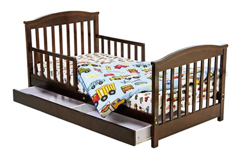 dream on me mission collection style toddler bed with