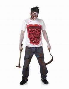 Déguisement Zombie Fait Maison : d guisement zombie avec boyaux en latex homme deguise toi achat de d guisements adultes ~ Melissatoandfro.com Idées de Décoration
