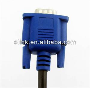Hot Selling Wiring Diagram Vga Cable 6m For Hdtv Pc Monitor