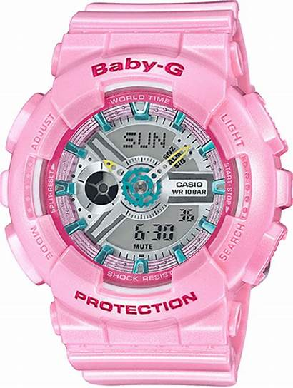 Casio Pink Ba 4a Watches Shock Digital