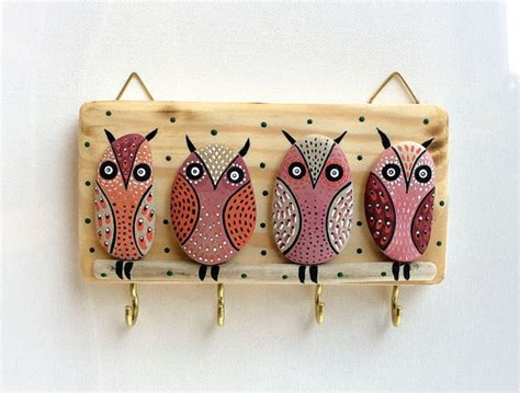 decorative key holder for wall key holder wall hook wood key holder wall decor wall