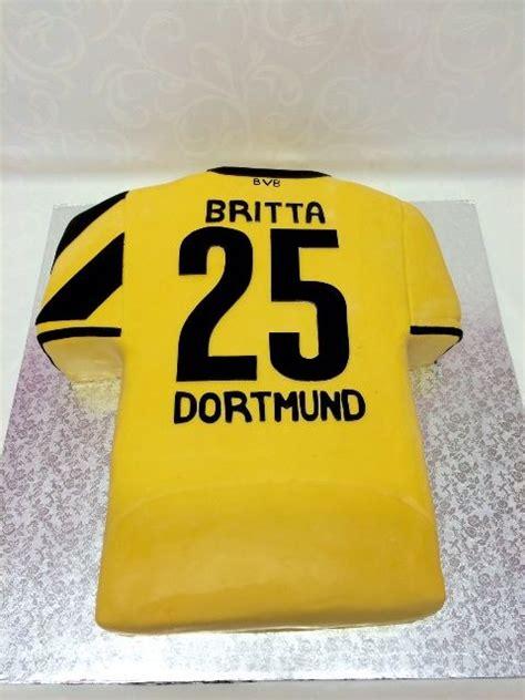 bvb dortmund trikottorte football cake fussballtorten