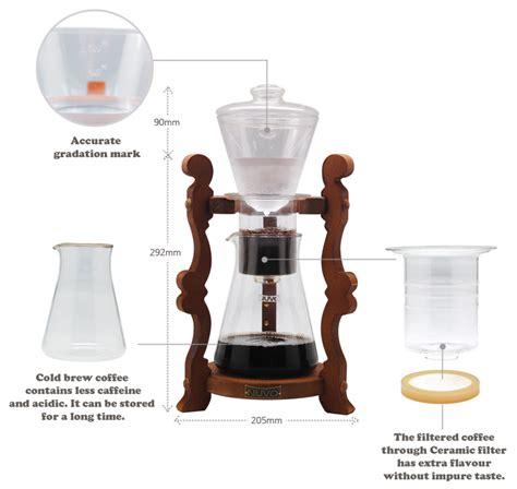 Cold Brew Coffee Iced Coffee Maker Cold Drip Coffee Dutch Coffee Nuvo Classic   eBay