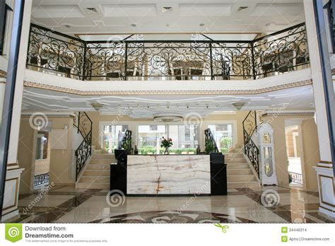 luxury hotel interior stock images image