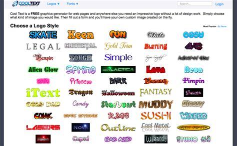 15 Top Free Online Font Generators