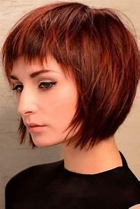 Coloration Cheveux Court : coloration cheveux court femme 2018 coupes de cheveux l gantes de la jeunesse 2019 ~ Melissatoandfro.com Idées de Décoration