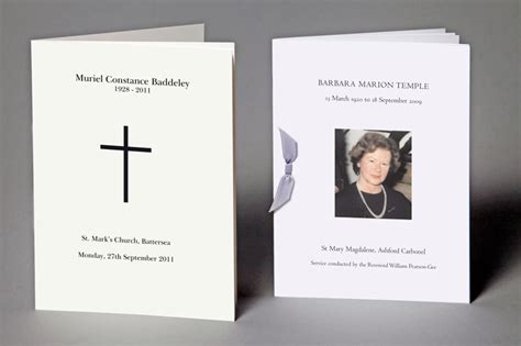 Funeral Service Sheet Template by Bespoke Funerals And Memorials Geebrothers Co Uk