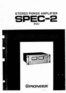 Pioneer Spec-1
