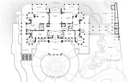 housing blueprints floor plans floor plans to the 60 000 square le palais royal
