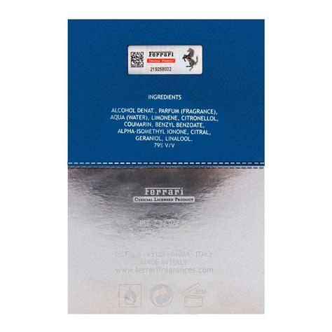 Ferrari 'vetiver essence' eau de parfum spray 3.4oz/100ml new in box. Buy Ferrari Cedar Essence Eau de Parfum 100ml Online at Best Price in Pakistan - Naheed.pk