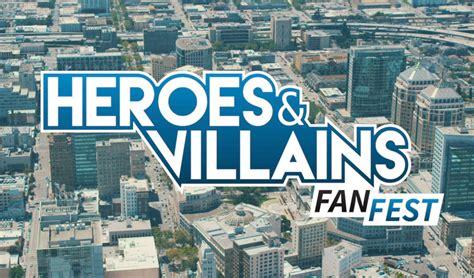 heroes and villians fan fest pop culturalist attends heroes villains in nj pop