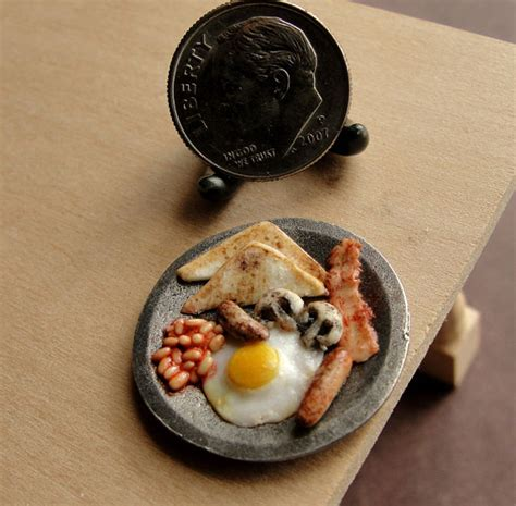 cuisine miniature these delicious looking meals are actually tiny clay sculptures