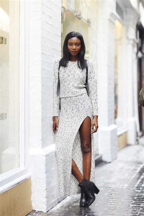 elle street style lfw s s 2016 fashion trends beauty