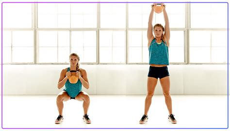kettlebell thruster workout