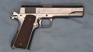 Argentina Minister Of War Colt Government Model
