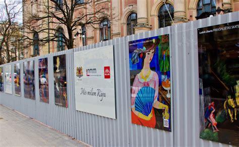 Komentāri par: Mākslas muzeja būvžogs pārtapis košā ...